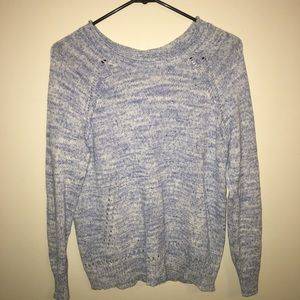 J. Crew Blue Sweater w/ Adorable Detail